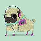 Roller pug by agrapedesign