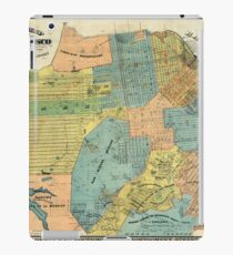 Vintage Map of San Francisco (1890) iPad Case/Skin
