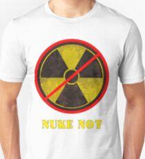 Nuke Not Open Background  T-Shirt