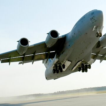 C-17 Globemaster on Takeoff by flyoff