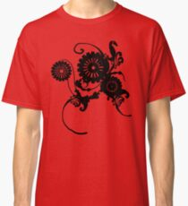 Clockwork Floral Classic T-Shirt