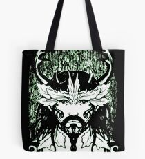 The Green Man - Forest Guardian Tote Bag