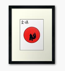 Judo the way of the warrior . Ideal christmas present Framed Print