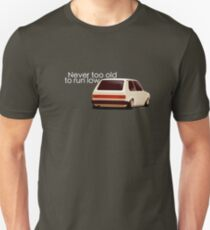 Never too old to run low T-Shirt