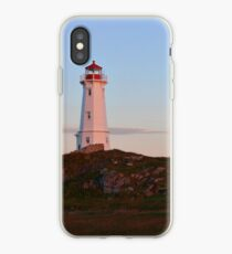 Sunrise at the Lighthouse iPhone Case