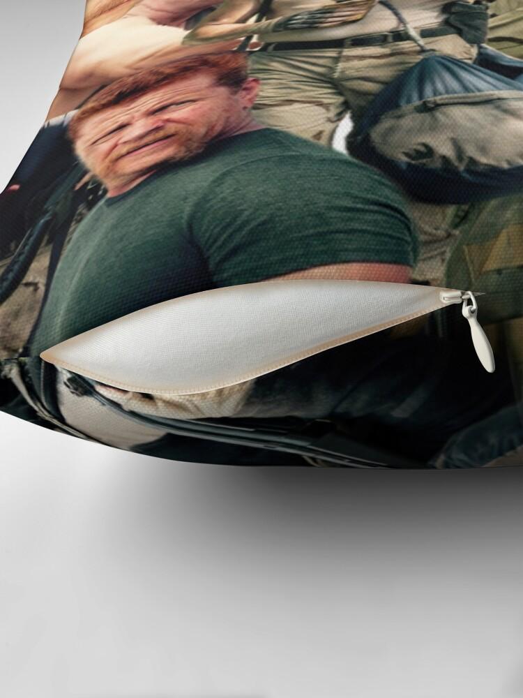 Alternative Ansicht von Abraham Ford - Die Walking Dead Dekokissen