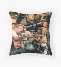 Abraham Ford - The Walking Dead Throw Pillow