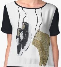 Larry Shoes Women's Chiffon Top
