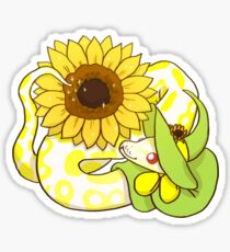 Kugelpython - Helianthus Sticker