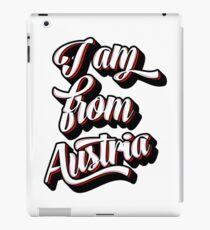I AM FROM AUSTRIA iPad Case/Skin