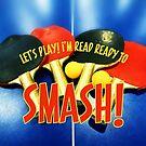 Ready to Smash Pingpong Bats Table Tennis Paddles Rackets by Beverly Claire Kaiya