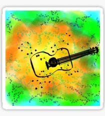 Colourful Music  Sticker