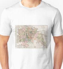 Vintage Map of Berlin (1811)  Unisex T-Shirt