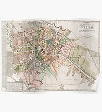 Old Berlin Map Posters Redbubble - Vintage map berlin