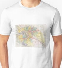 Vintage Map of Berlin (1846) T-Shirt