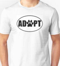 ADOPT pet sticker Unisex T-Shirt