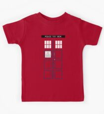 Kid's TARDIS T-shirt Kids Tee