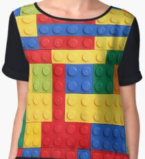 LEGO Bricks Women's Chiffon Top