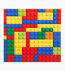 LEGO Bricks Photographic Print