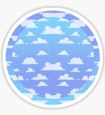 Blue Skies Sticker