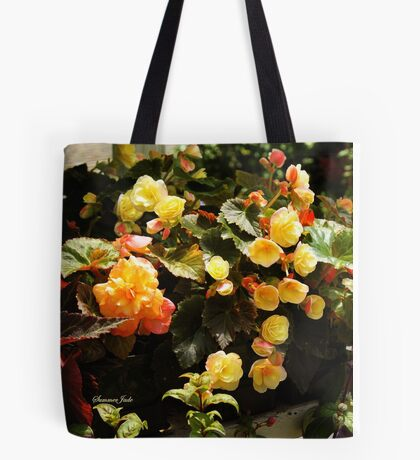A Passion for Begonias Tote Bag