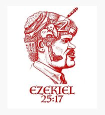 Ezekiel 25:17 The Path of the Righteous Man Photographic Print
