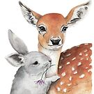 'Bambi and Thumper' by Meaghan Roberts