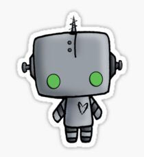 Adorable Robot Sticker