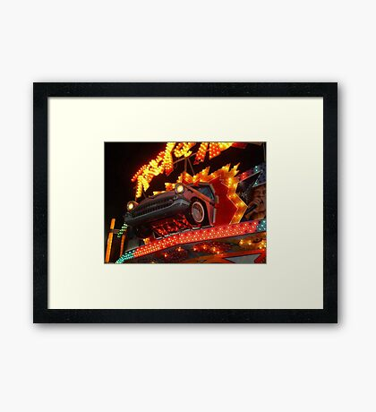 57 Chevy - Let's Rock and Roll! Framed Print
