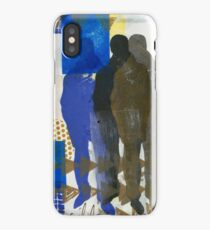 A Man and His Shadows iPhone Case