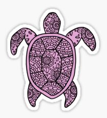 turtle purple  Sticker