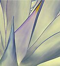 Exclusion - Agave Attenuata 43 by Larry Costales