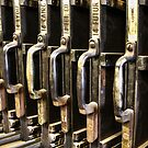 Printer's Antique Font Library by Heather Friedman