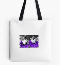 Purple Princesses Tote Bag