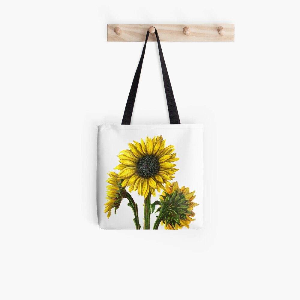 Harvest Sunflower Tote Bag