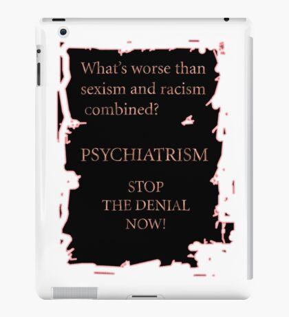 Psychiatrism iPad Case/Skin