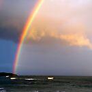 beach rainbow 1 by geophotographic