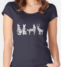 Moony, Wormtail, Padfoot & Prongs 2 Women's Fitted Scoop T-Shirt