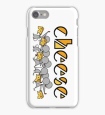Cheese and mouse iPhone Case/Skin