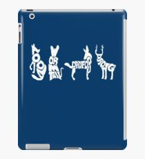 Moony, Wormtail, Padfoot & Prongs 2 iPad Case/Skin