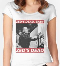 ZED'S DEAD Women's Fitted Scoop T-Shirt