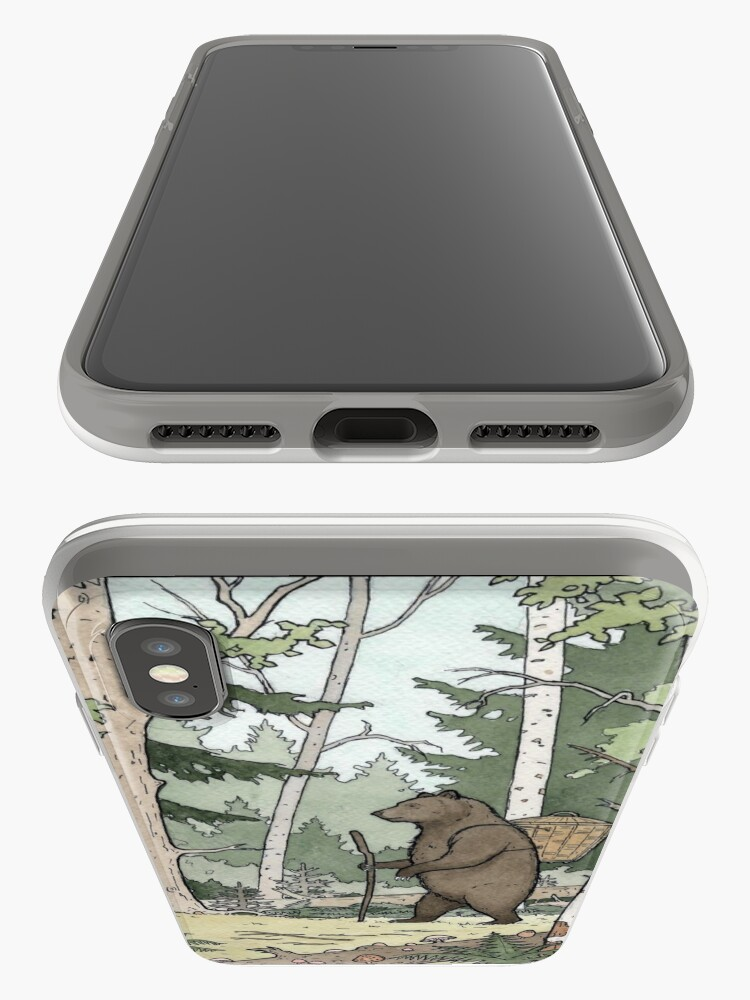 Alternate view of Bear in the Woods iPhone Case & Cover