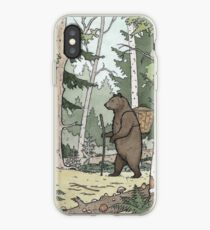 Bear in the Woods iPhone Case