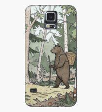 Funda/vinilo para Samsung Galaxy Oso en el bosque