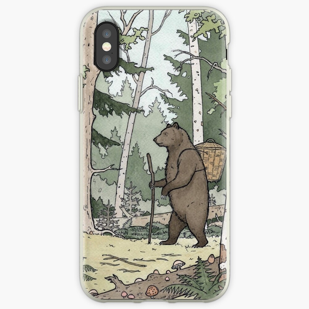 Bear in the Woods iPhone Case & Cover