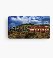 American Hollywood sign Canvas Print