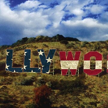 American Hollywood sign by Nathan26