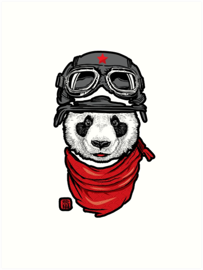 Cool Panda Design By Francoll