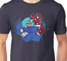 Animated Style Knock Out and Breakdown Unisex T-Shirt