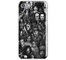 Retro horror movie iPhone Case/Skin
